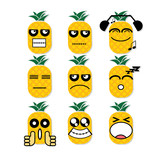 icon face pineapple