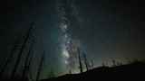 A time lapse of the Milky Way Galaxy