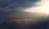 Sunset in the Polish Tatra Mountains