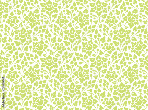 floral seamless pattern - 124640445