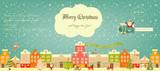 Christmas characters on City - 124663631
