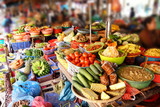 Colorful vegetables for sale
