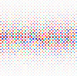 Colorful halftone background, dotted lines pattern background. - 124732276