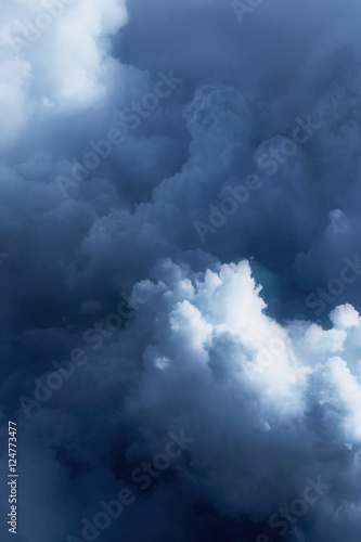 In the clouds. - 124773477