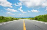 直線の道路