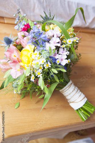 Leinwanddruck Bild Wildblumenstrauss