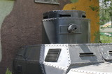 Army armoured vehicle/This is a  detail of army vehicle - loophole.