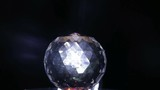 crystal ball in a dark