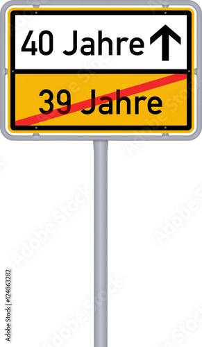 Geburtstag 39 40