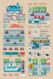 transportation info graphic