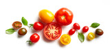 Fototapety various colorful tomatoes
