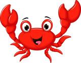 funny cartoon crab for you design - 124945632