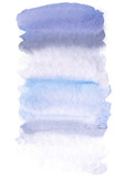 Hand painted watercolor background - 124993425