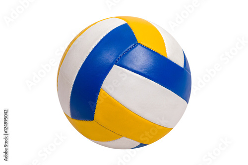 Fototapeta Volleyball Ball Isolated on White Background