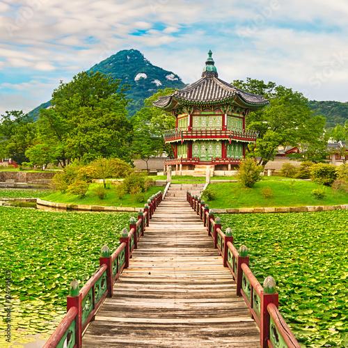 Gyeongbokgung Palace. South Korea.