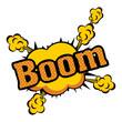 pop art onomatopoeia speech bubble icon image vector illustration design