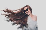 Hair like fire.  - 125003444