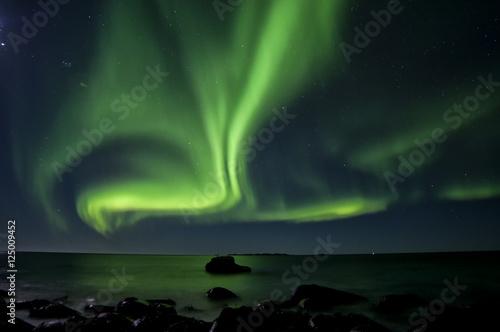 Nordlichter Aurora Lofoten Norwegen