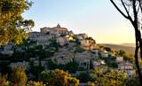 Fototapety village de Gordes en Provence