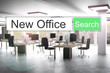 websearch new green search button office 3D Illustration