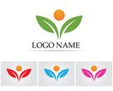 Health natural logo