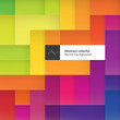 Color squares. Abstract geometric colorful background. With spac