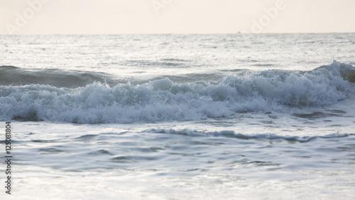 close-up sea surf - 125081804