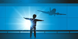 Enfant - Avion - Rêve - Pilote - 125088246