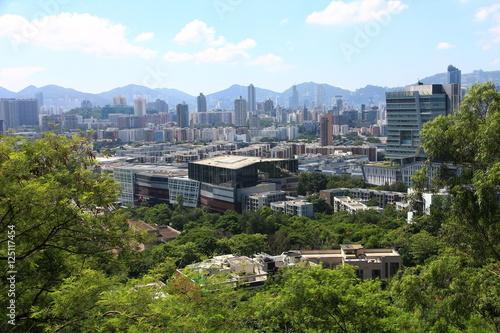 Poster Skyline of Kowloon Peninsula, Hong Kong