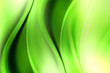 Exclusive Abstract Green Wave Design Background