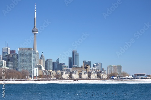 Poster View of Toronto downtown from Ontario place