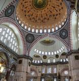 Interior decoration of the Suleymanie Mosque