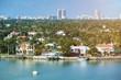 cityscape in miami city