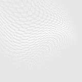 Grey and white halftone and dotted lines perspective background. - 125178644