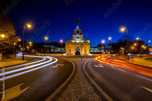 Fototapety, obrazy : Bialystok city at Night