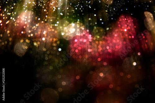 Fotografiet glitter wonderful lights background.