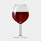 Transparent Wineglass With Red Wine - 125315659