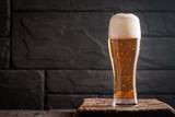 Fototapety Glass of light beer