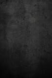 Empty black concrete stone surface texture