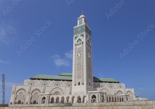 Mosque Hassan II in Casablanca Poster