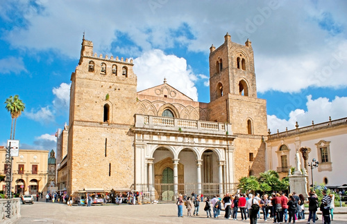 Papiers peints Palerme The great Cathedral of Monreale