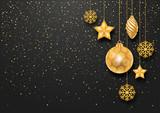 Festive Christmas Background - 125400870