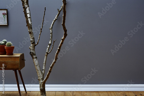 Fototapeta Ast und Dekoration im Altbau