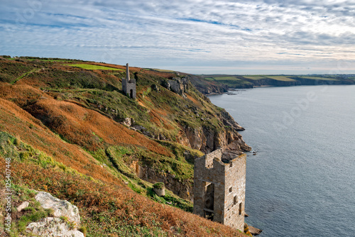 Poster Wheal Trewavas at Rinsey in Cornwall