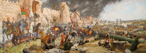 Final assault and the fall of Constantinople in 1453