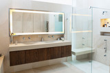 Beautiful Bathroom Interior in New Luxury Home - 125438077