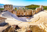 Ancient Amphitheater of Acropolis of Athens, landmark of Greece - 125451238