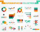 Business and social infographics - 125461657