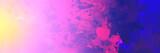 liquid water color explosion - banner  - 125492852