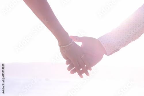 main dans la main Poster